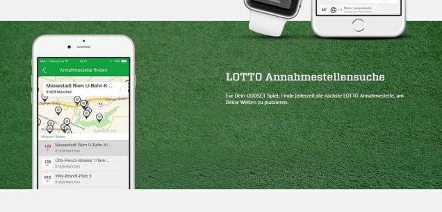 ODDSET Spielplan Lotto Annahmestellen Suche