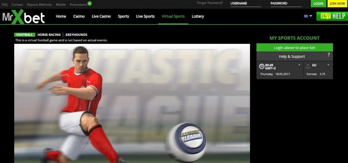 MrXBet Wetten Virtual Sports