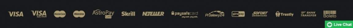 Roy Richie Zahlungsmethoden