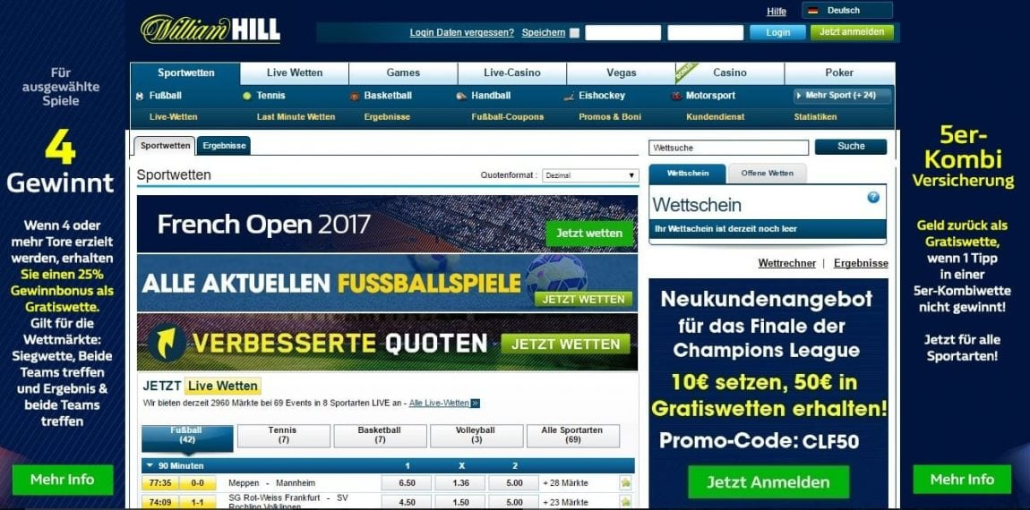 Vice Sports William Hill Startseite