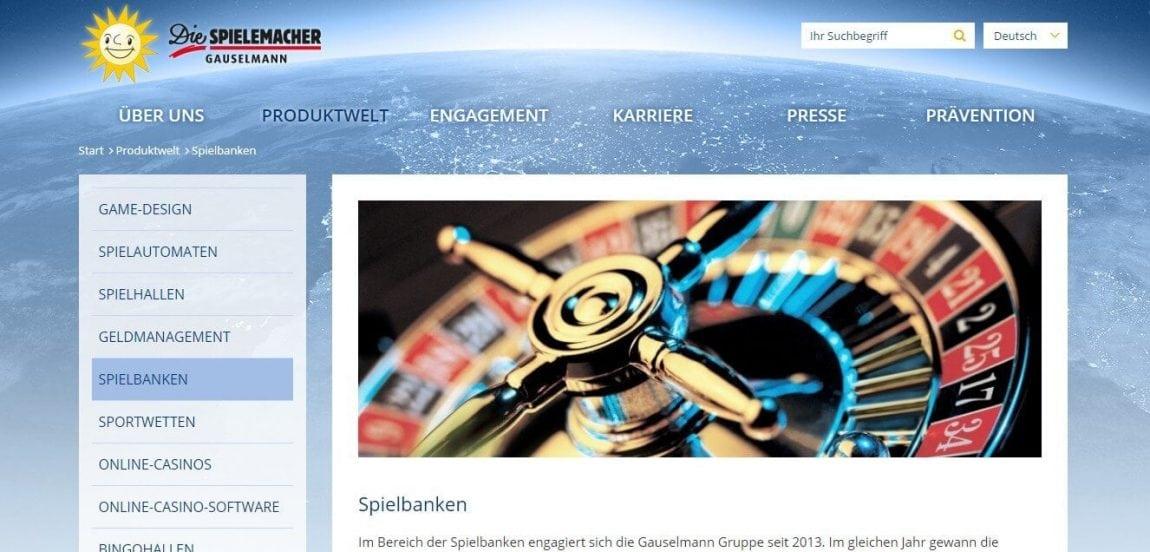 Gauselmann und Spielbanken