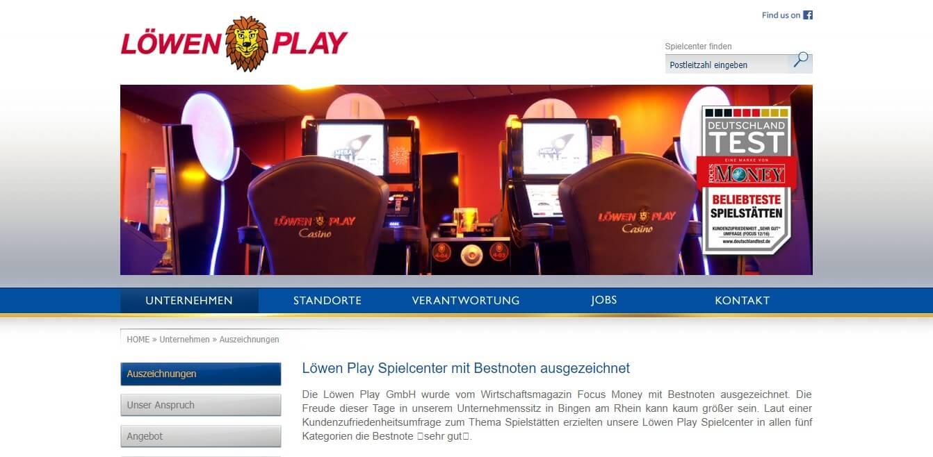 Geldgewinnspielgeräte löwenplay Spielcenter