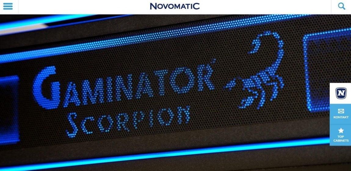 Novomatic Novoline Gaminator Scorpion