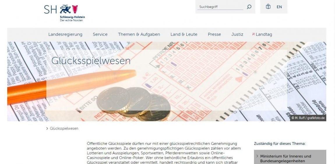 Schleswig-Holstein Offizielle Webseite