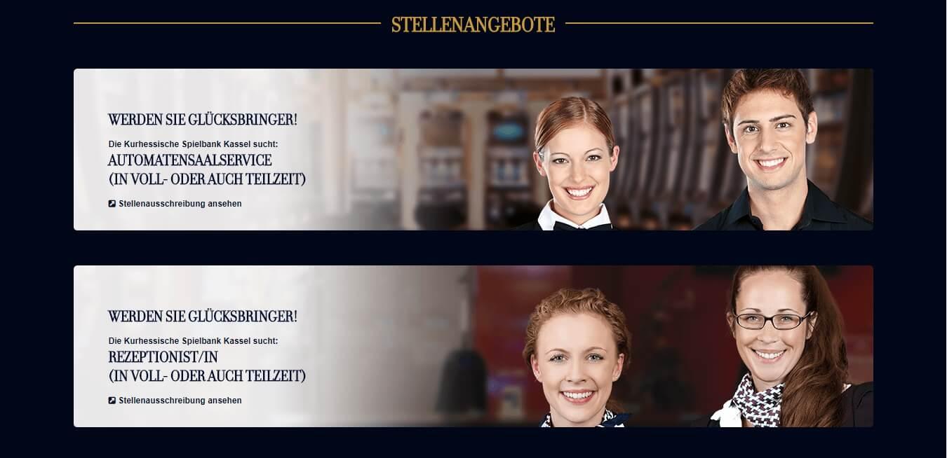 Spielbank Kassel Stellenangebote
