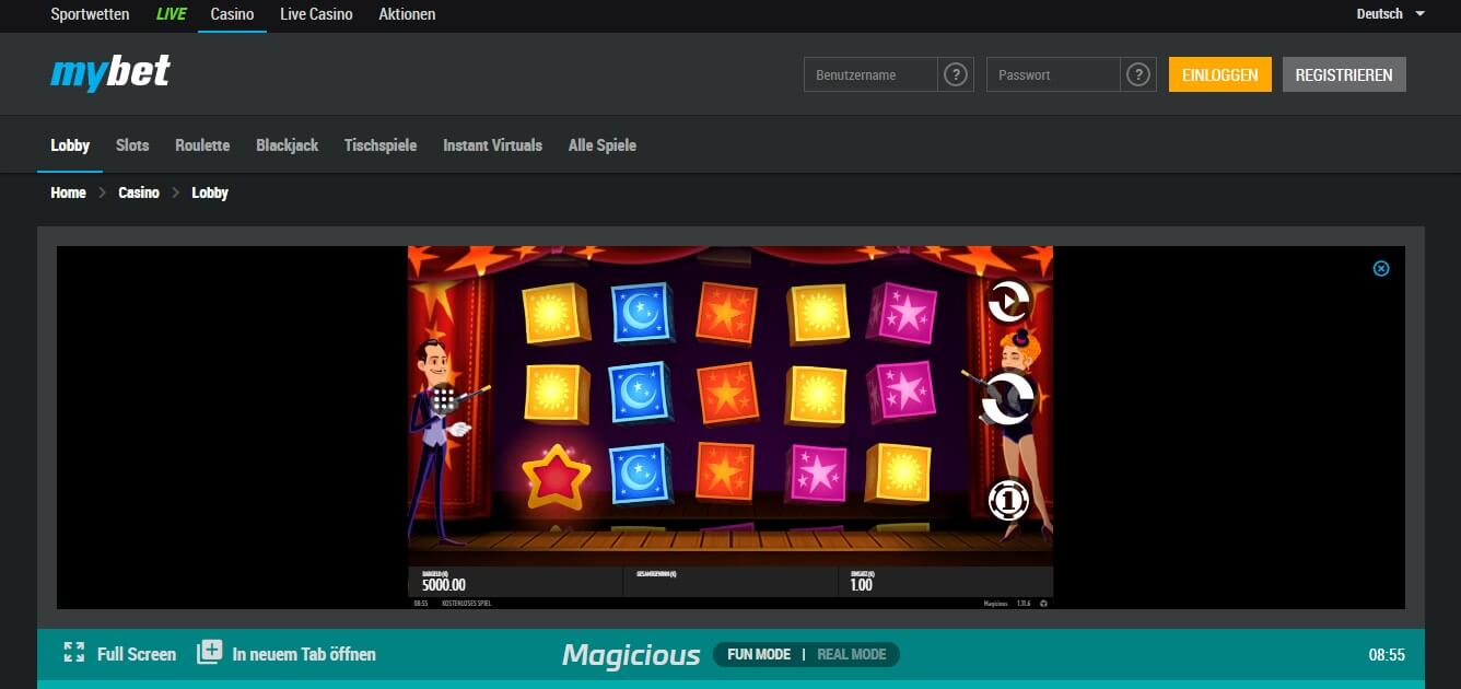 mybet Casino Macisious