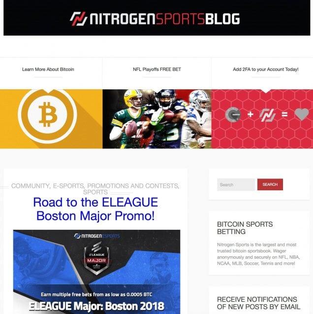 Nitrogen Blog