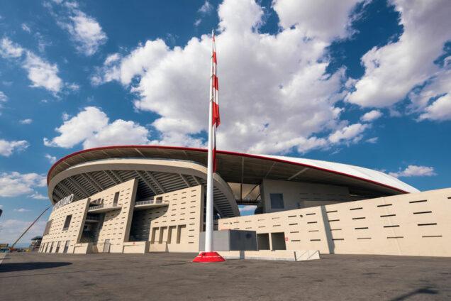 Atletico Madrid Stadion Wanda Metropolitano
