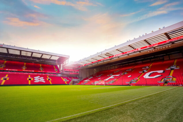Liverpool FC Stadion Anfield Road