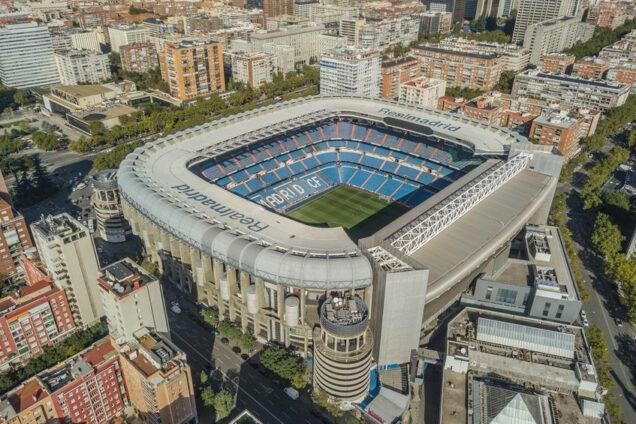 Real Madrid - Santiago Bernabéu